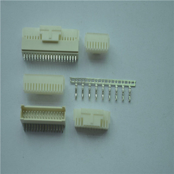 Dual Row 2.0mm Pitch Female Wire To Board Power Connectors For PCB 250V