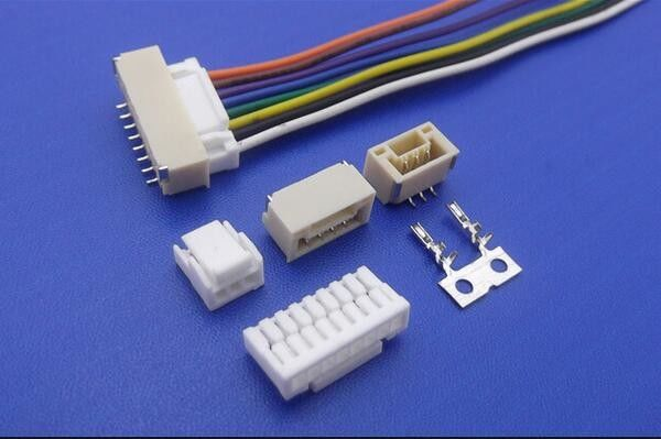 Single Row Wire To Board Power Connector PCB SMT Header Electronic Cable Connectors