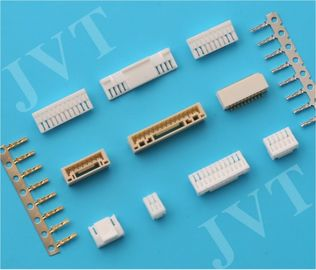 Cina AWG# 26-30 Circuit Board Pin Connectors 1.25mm Pitch with 10MΩ Max Contact Resistance pabrik