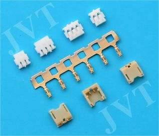 Cina PA9T UL94V-0 Wafer PC Board Connectors , 2 - 15 Circuit Ribbon Cable Connectors pabrik
