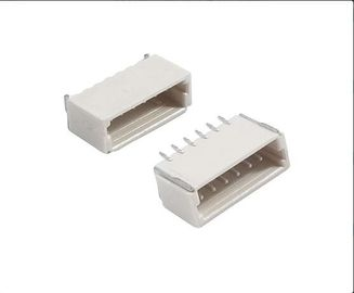 Cina SH Male Connector 6 Pin Pitch 1.0mm , 0.5A  50V Horizontal With Material LCP, UL94V-0 Distributor