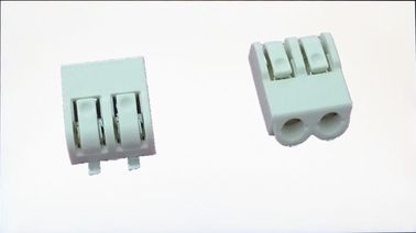 Cina 4 mm Pitch SMD LED Crimp Connector 2 Poles Tin - Plated Terminal Block Connectors pabrik