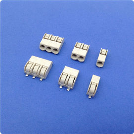 Cina 4 mm Pitch SMD LED Connector 2 Poles Tin - Plated Terminal Block Connector pabrik