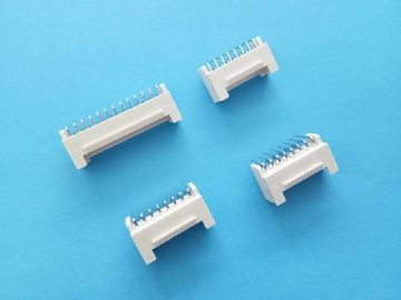 Cina PHB 2.0mm PCB Connectors Wire To Board Dual Row Right Angle Beige Color pabrik