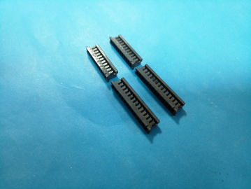 Cina DF3 2.0mm Perumahan PCB Dewan Connector, Wire To Board Connector Warna Hitam pabrik